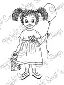 Emma's Balloon Digi Stamp