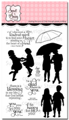 Together Silhouettes Clear Stamp Set