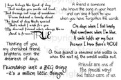 True Friend Sentiments Digital Stamp Set