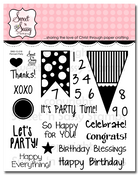 Pennant Party Clear Stamp Set