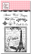 To Paris With Love Clear Stamp Set