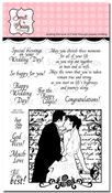 Wedding Collage Clear Stamp Set