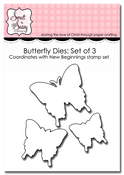 New Beginnings Butterfly Die Set