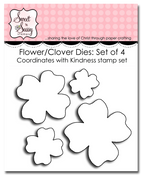 Kindness Flower/Clover Die Set