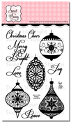 Vintage Ornaments Clear Stamp Set