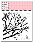 Tree Background Clear Stamp Set