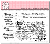 Autumn Collage Clear Stamp Set