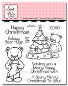 Holiday Bear Hugs Clear Stamp Set