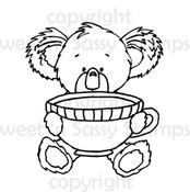 Kiwi Koala's Cuppa Digital Stamp