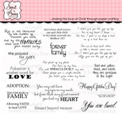 The Gift of You Clear Stamp Set