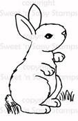 Bunny 1 Digital Stamp