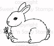 Bunny 2 Digital Stamp