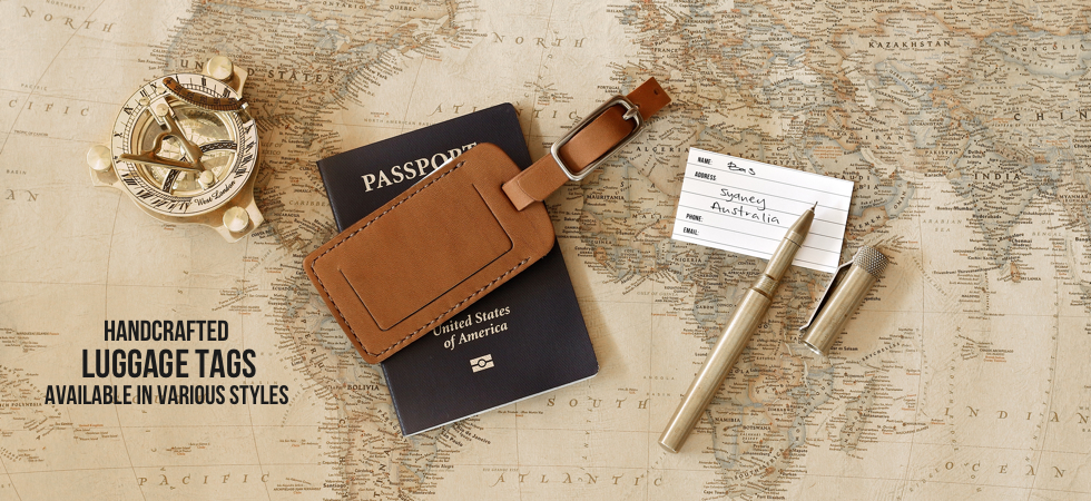 Handcrafted Luggage Tags