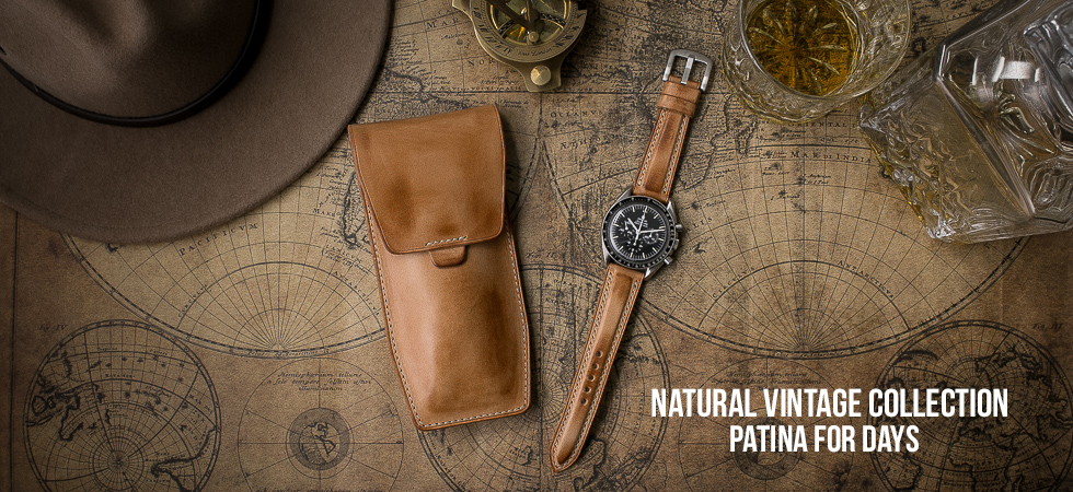 Natural Vintage Watch Strap Collection