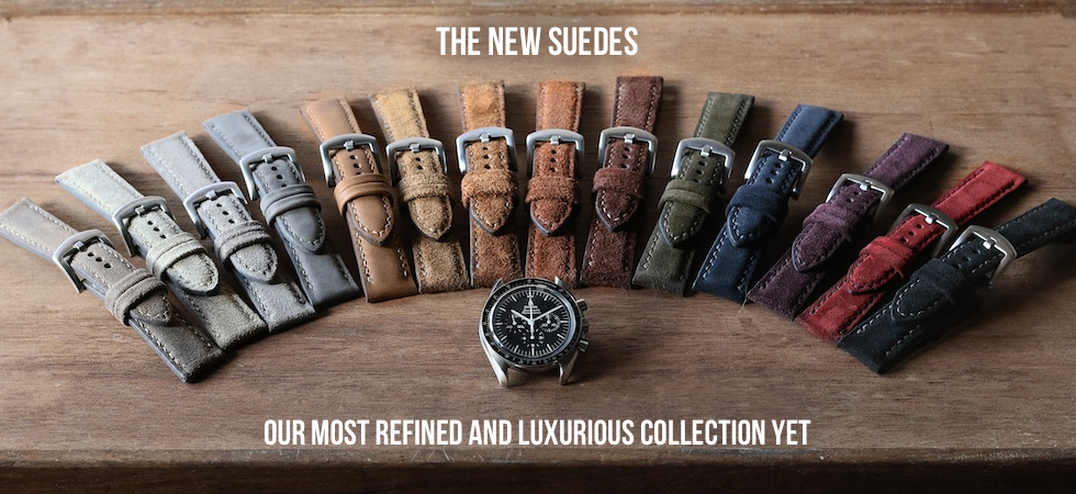 Handcrafted Suede Watch Straps