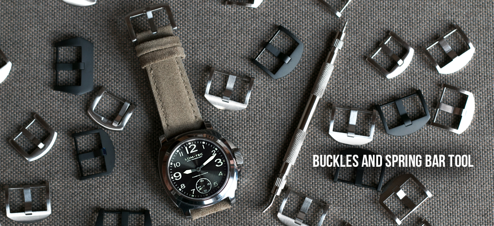 Steel watch buckles and tools
