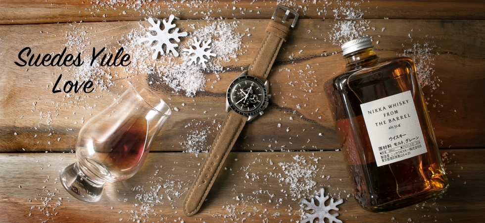 Suede Watch Straps Yule Love