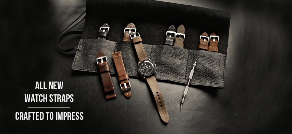 Handmade Leather Watch Straps