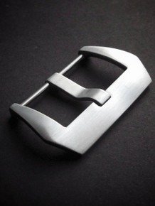 Brushed Pre-V Screw-In Steel Watch Buckle