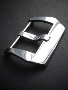 Polished Pre-V Screw-In Steel Watch Buckle