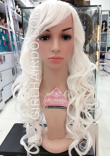 #9306 white wig