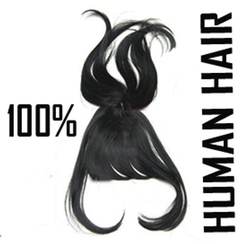 100% HUMAN HAIR TUTU BANGS (NEW VERSION-NICER)