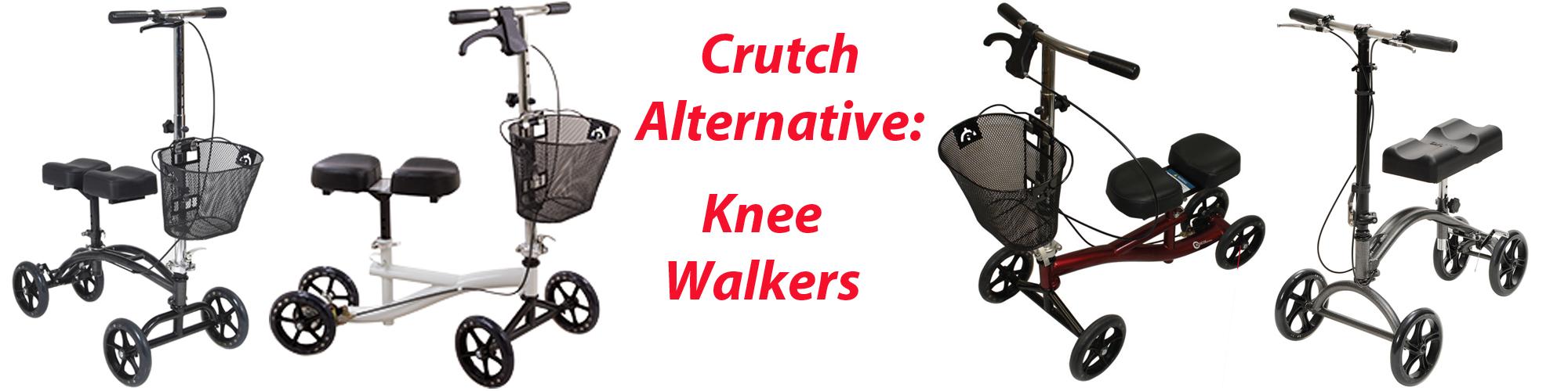 Types of Knee Walkers
