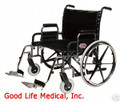 "Everest & Jennings Paramount XD Bariatric Manual Wheelchair, 650 cap., 26"" wide, Elevating Legrests"