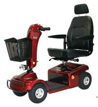 Burgundy Shoprider Sunrunner 4 Wheel Scooter 888B-4