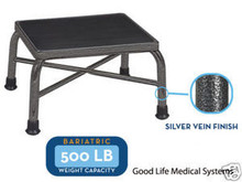 DR 13037 1SV Bariatric Foot Step Stool