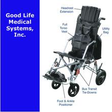 DR TR 8027 Trotter Accessory:  Lateral Support Scoli Strap