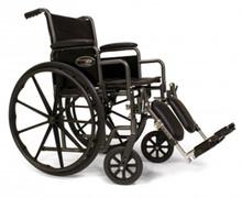 """Wheelchair 20"""" x16"""" Seat Traveler SE Elevating Legrest (3E010330 - Traveler SE 20)"""