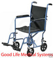 "Drive Steel Transport Chair with  19"" Wide Seat"