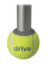For Walkers: Tennis Ball Glides, 1 Pair of Glides + 1 Pair of Replacement Pads Included