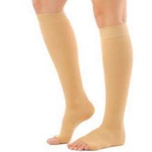 Men's or Women's Support Knee High, Open Toe 30 to 40 mmHg, Extra Firm Compression