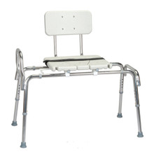 Sliding Transfer Bench with Cut-Out Seat