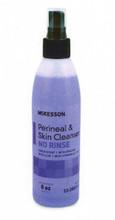 McKesson 48 Spray Bottles of Perineal Wash Liquid, No Rinse, 8oz. Bottles, 80311800  53-28013-8
