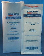 McKesson ABD Combine Pad Cellulose Tissue 16-4254