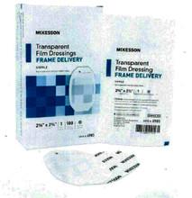 """McKesson Transparent Film Dressing, box of 50, 4"""" x 4 3/4"""", 4986"""