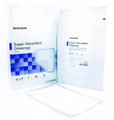 McKesson Super Absorbent Polymer Dressings, 6 in by 9 in