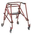 Drive KA4200s-2GCR Nimbo Walker with Seat, size large