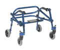 Blue Nimbo KA1200S-2GKB light weight Posterior walker