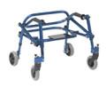 Blue Nimbo KA1200S-2GKB light weight Posterior walker
