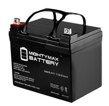 Mighty Max Brand ML35-12 U1 Rechargeable Batteries, AGM Nut & Bolt
