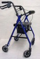 Alex 4 Wheel Rollator Walker P5024-BL Blue