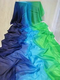 5mm Ultralight 3 yard Silk Belly Dance Veil, in ISIS
