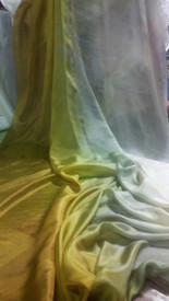 5mm Ultralight 3 yard Silk Belly Dance Veil, in SAVANNA
