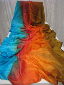 ORDERABLE: 5mm STANDARD 3Yard Veil  in  Egyptian Queen