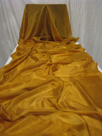5MM 3YARD INSTOCK READY2SHIP: 5MM ULTRALIGHT 3 YARD SILK BELLY DANCE VEIL, in PRECIOUS GOLD