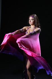 Tatyana with Juicy Pinks veil